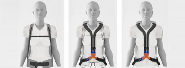 全新智能双肩包背带设计 解放你的双肩