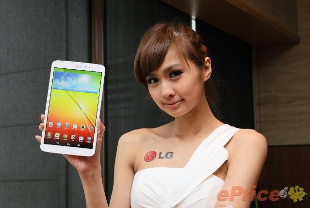 便携新平板 LG G Tablet 8.3模特图赏