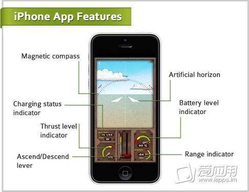 超级神奇 用iphone手机操控的纸飞机