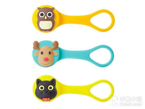 【手机中国配件】bone苹果耳机理线器采用多种动物造型,各种可爱动物