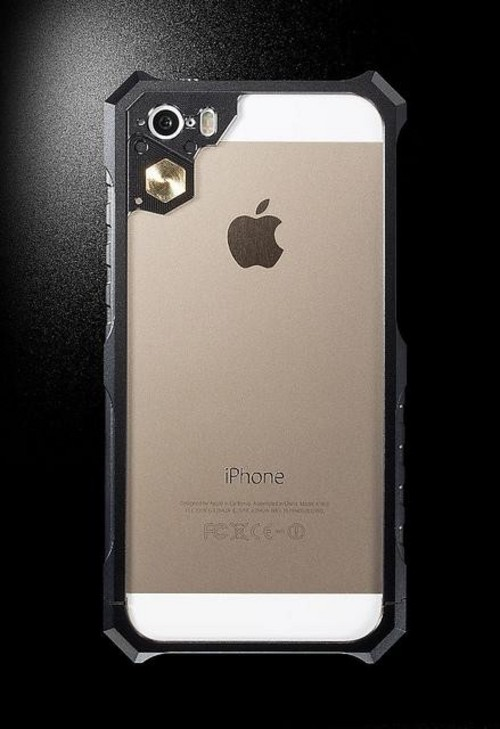 酷帅 大河原邦男设计铝合金iphone外壳