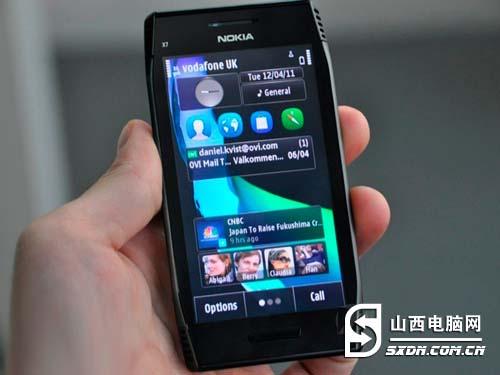 顶级塞班配置 诺基亚X7行货售3150元