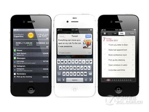 苹果s三网通吃_三网通吃的苹果iPhone4S报价4900元